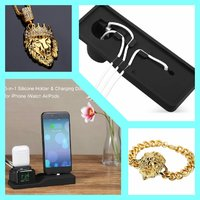 Used MEN'S LION GOLD SET+ 3in1 Charging Stand in Dubai, UAE