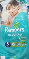 Used Pampers  Baby  Dry  size 5 in Dubai, UAE