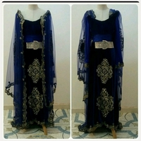 Used Elegant VELVET Long Dress for Women in Dubai, UAE