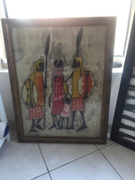 Used African theme painting in Dubai, UAE