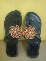 Used Pure leather new slippers from kenya. in Dubai, UAE