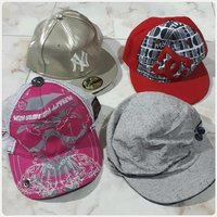 Used Bundle offer 4pcs hats nice for Summer. in Dubai, UAE