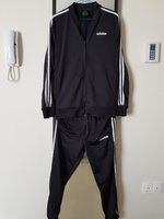 Used Adidas 3stripes tracksuit for men in Dubai, UAE