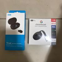 Used E6s earphones and chromecast in Dubai, UAE