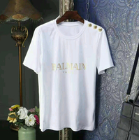Brand Nee Balmain Shirt Comes In Different Sizes With Box And Paper Bag