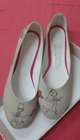 Ladies shoes flat, Goby