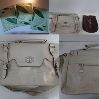 Used Apples Bag White with free Items in Dubai, UAE