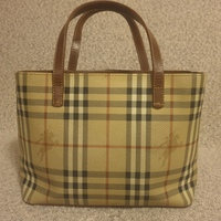 Used Burberry classic haymarket in Dubai, UAE