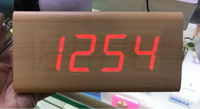 Used Table clock with temperature status  in Dubai, UAE