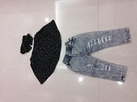 Used New clothing set 2yo girls in Dubai, UAE