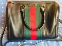 Used Gucci boston web vintage black in Dubai, UAE