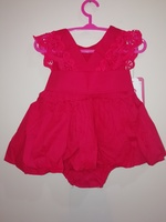 Cute little red dress for baby girls