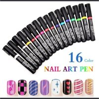 Used 16 pcs DIY nail art pens in Dubai, UAE