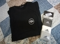 Used Men's T-shirt + Adidas socks in Dubai, UAE
