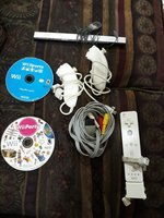 Used Wii gear +2  games +wii camera in Dubai, UAE