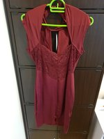 Used Marron cocktal and evening dress in Dubai, UAE
