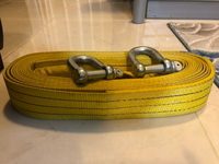10 Tons Tow Strap Belt With Hinges