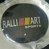 Used Ralliart Sports Center Wheel Hub Sticker 65mm in Dubai, UAE