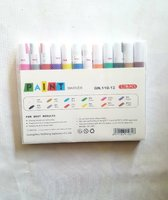 Used 12 Colors Paint Markers in Dubai, UAE