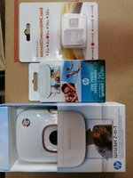Used Hp sprocket 2 in1 photos printer white in Dubai, UAE