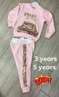 Used Baby girls tracksuit made in Turkey in Dubai, UAE