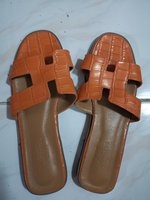 Used Pre-Loved Original Hermes Slip Ons Sz 42 in Dubai, UAE
