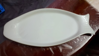 Fish shaped serving tray large