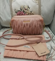 Used AUTHENTIC MIUMIU SLING BAG... PRELOVED in Dubai, UAE