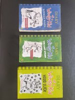 Used Diary Of A Wimpy Kid 3 Books in Dubai, UAE