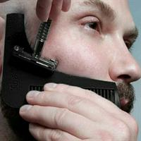 Beard Shaping Tool Man Gentleman Beard Trim Template