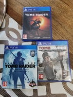 Used TOMB RAIDER PS4 TRILOGY in Dubai, UAE
