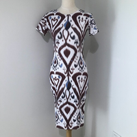 Used Bodycon Graphic Print Dress NEW Small in Dubai, UAE