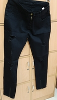 Used Black jeans, L size in Dubai, UAE