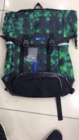 Nike green pattern Back Pack