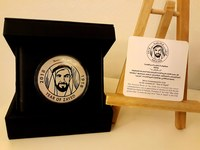Used YEAR OF ZAYED SILVER COIN MASKOOKHA in Dubai, UAE