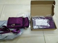 Used Women's sports phone bag purple 2 pcs in Dubai, UAE