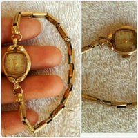 Used Antique 1940's Swiss Vintage Gold Watch in Dubai, UAE