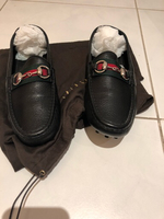 "Gucci loafers ladies 38"" authentic 100%"