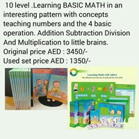 Used Learning MATHS with ALBERT. TIME LIFE SERIES in Dubai, UAE