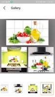 Used 2 pcs Kitchen over stove wall stickers in Dubai, UAE
