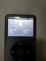 Apple iPod classic 7th generation 160gb