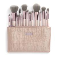 Used Bh cosmetic 15pc brush set with pouch in Dubai, UAE