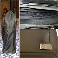Used Dell Black Leather Laptop Bag /Briefcase in Dubai, UAE