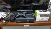 Used Xbox 360 + kineckt + controller+10 games in Dubai, UAE