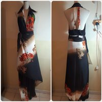 Used Amazing long dress fashion backless in Dubai, UAE