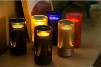Used chargeable bt speaker with LED.130 DHS get 2 pieces.4 colors are available. in Dubai, UAE