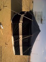 Used 4x4 meter tent, camping & other events in Dubai, UAE