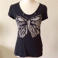 Banana Republic Butterfly Print T-Shirt. In Good Condition. Worn Only Few Times. Size US XS But Can Fit Small. 100% Cotton. Fitted Shirt. Please Check Out My Profile For More Items.