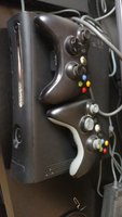 Used Xbox 360 with 7 games 2 controllers in Dubai, UAE