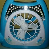 Used Rechargeable Fan With LED Light And Torch ..fresh Box Piece in Dubai, UAE
